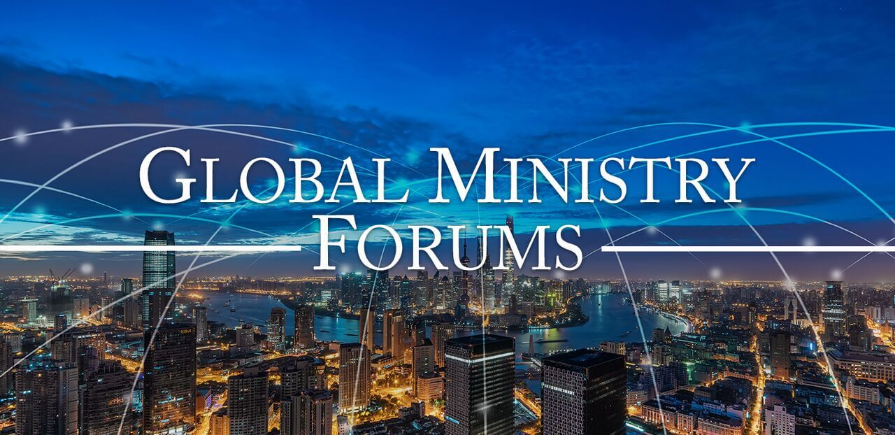Global Ministry Forum Slide